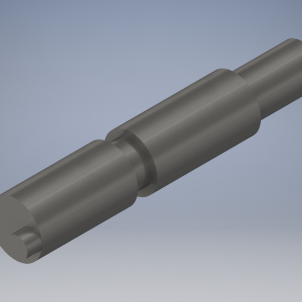 000040 - Gear shifter shaft - steel for LeBlond 4025NK
